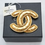 Chanel Logo Brooch
