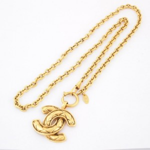 Chanel Logo Necklace 1